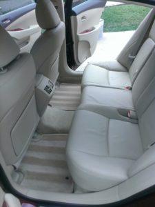 austin Auto interior detailing services