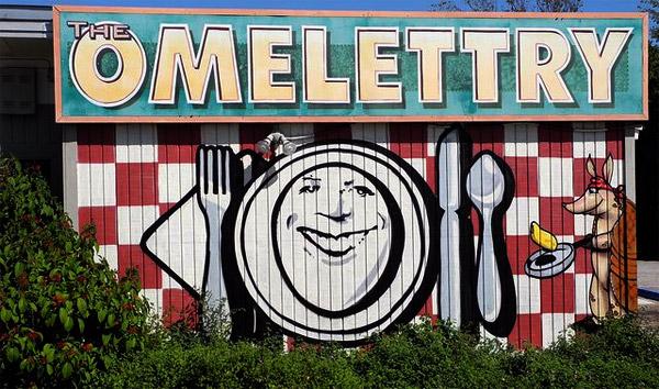 Omelettry austin mural