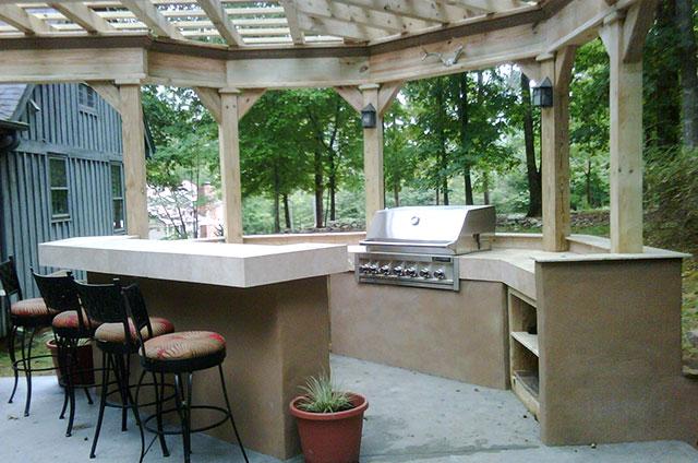 Outdoor kitchen - Creative Design Builders