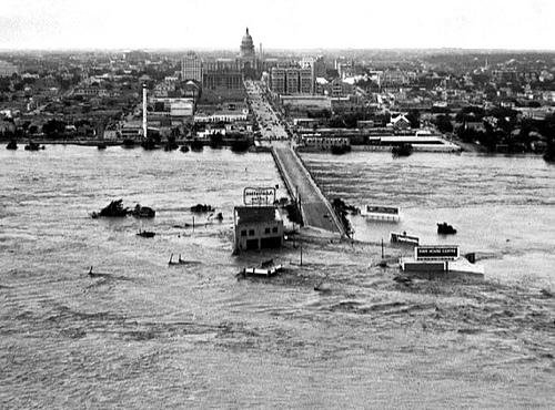 congress ave 1935 flood