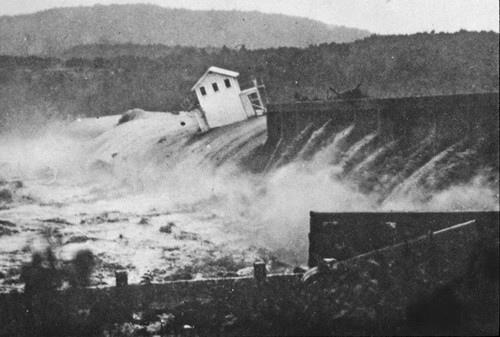 austin dam flooding