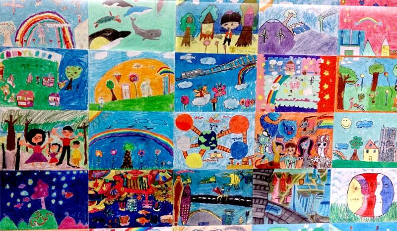 photograph kids artwork