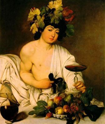 Wine History - Bacchus God of Wine