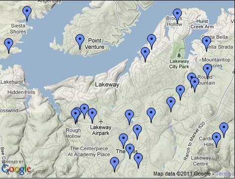 Lakeway Map