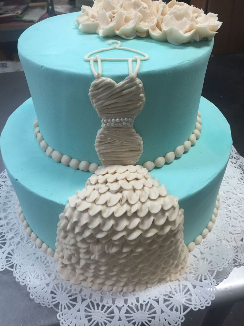 Tiered Bridal Shower Cakes