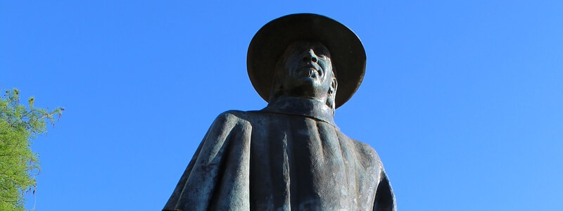 Statue Stevie Ray Vaughan
