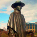 Stevie Ray Vaughan Statue - Austin Texas